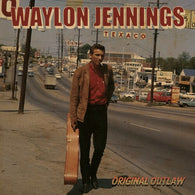 Waylon Jennings - Original Outlaw (Tri-colored Red, White & Blue Vinyl)