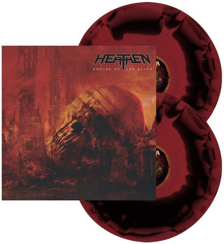 The Heathen - Empire Of The Blind (Red & Black Swirl Vinyl)