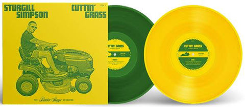 Sturgill Simpson: Cuttin' Grass (Indie Exclusive Yellow/Green)