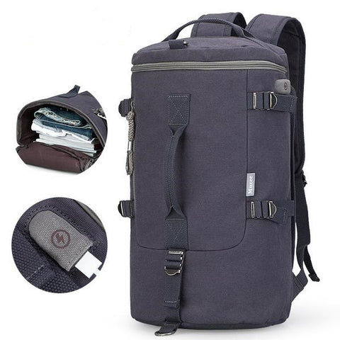 High Quality  Multifunctional Rucksack Male Travel Backpack