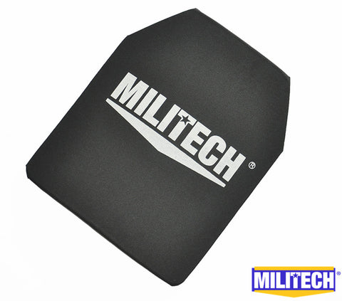 MILITECH 10 x 12 inches Ultra Light Weight NIJ IIIA Bulletproof Backpack Panel Inserts Ballistic Tested