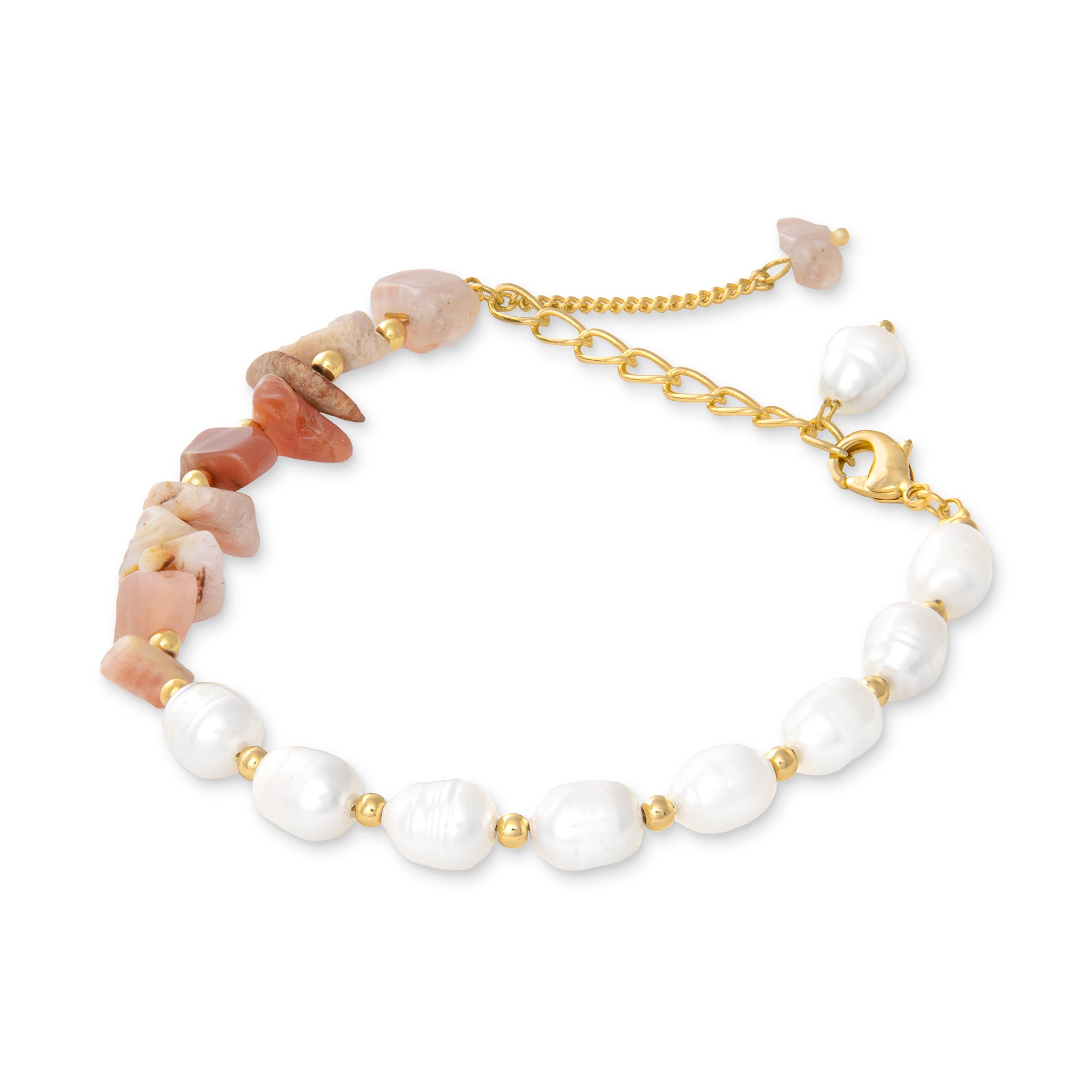 THE CAROLEE (Peach Moonstone)