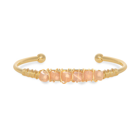 THE ALLIE (Peach Moonstone)