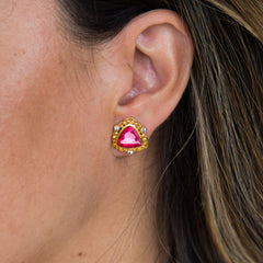 THE VIVIANA (Hot Pink CZ)