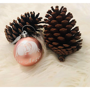 Sleeping Angel Memory Bauble