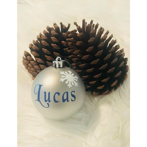Blitzen Personalised Christmas Bauble