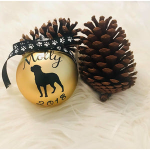 Pet Personalised Bauble