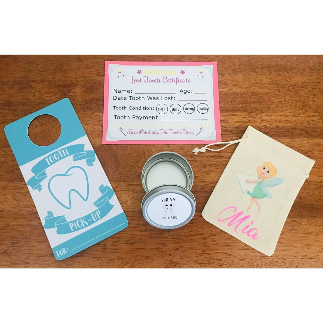 Personalised Tooth Fairy kit