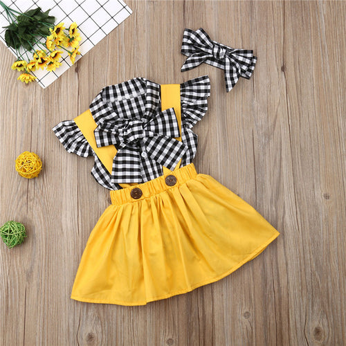 Sunshine Pinafore Set