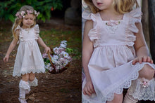 Milly Ruffle & Lace Dress