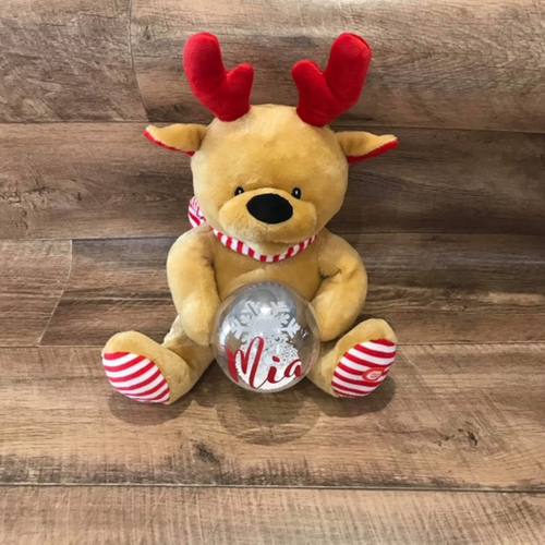 PERSONALISED SINGING REINDEER