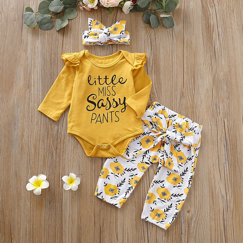 Little Miss Sassy Pants Set
