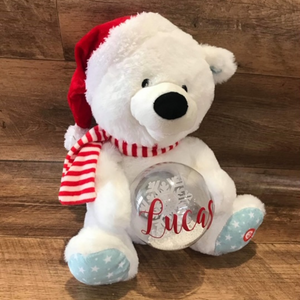 PERSONALISED SINGING BEAR