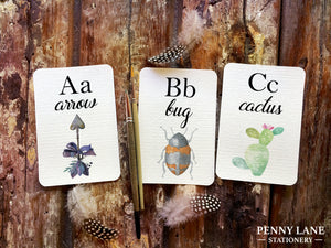 printable childrens flash cards