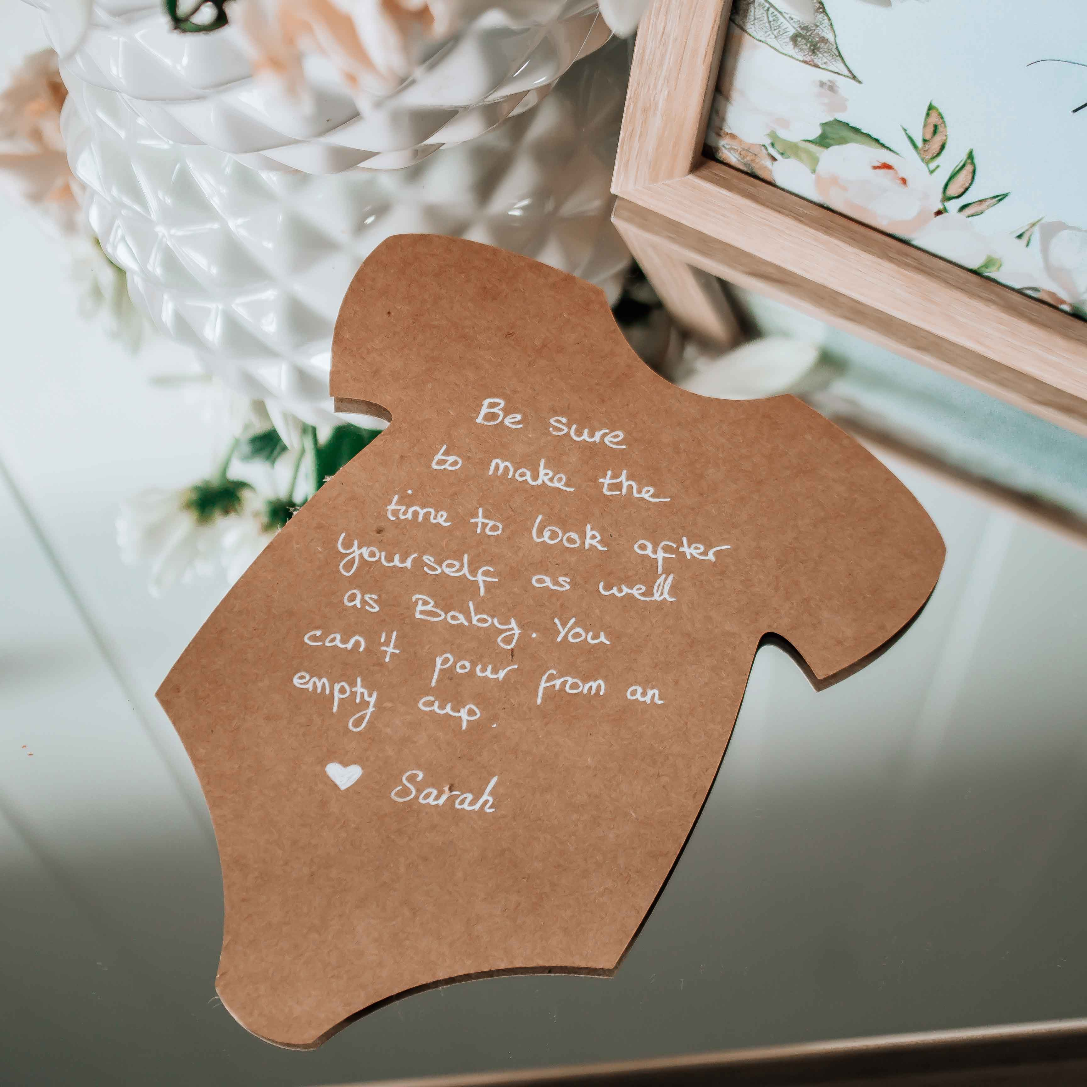 FREE Baby Shower One-piece SVG Cut File for Advice and ...