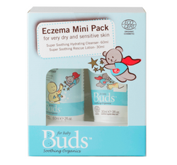 Buds Baby Soothing Organics - Eczema Mini Pack
