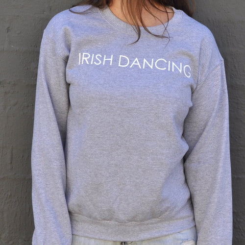 IRISH DANCING PRINTED SWEATER