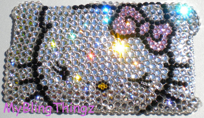 Swarovski Crystal Bling iPhone Case - Hello Kitty Design - Diamond Rhinestone BLING Back Case handmade using 100% Swarovski Crystals