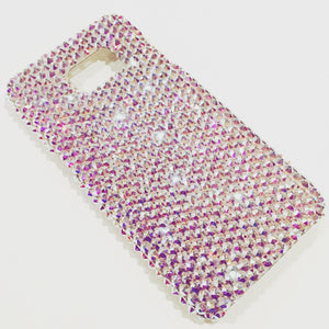 For New Samsung Galaxy S7 - Iridescent Crystal AB Rhinestone BLING Back Case handmade with 100% Crystals from Swarovski