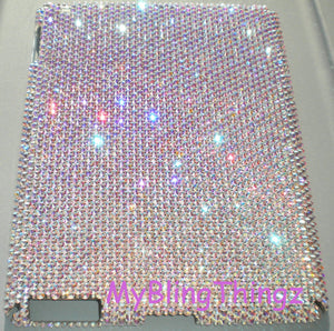 "Bling Back Case For NEW iPad Pro 9.7"" with Swarovski Crystals - Iridescent Crystal AB Diamond Rhinestone"