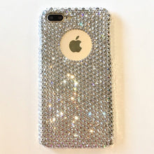 "For iPhone 6 Plus / 6S Plus (5.5"") - Logo Feature - Luxury Clear Crystals from Swarovski Diamond Rhinestone BLING Handmade Back Case"