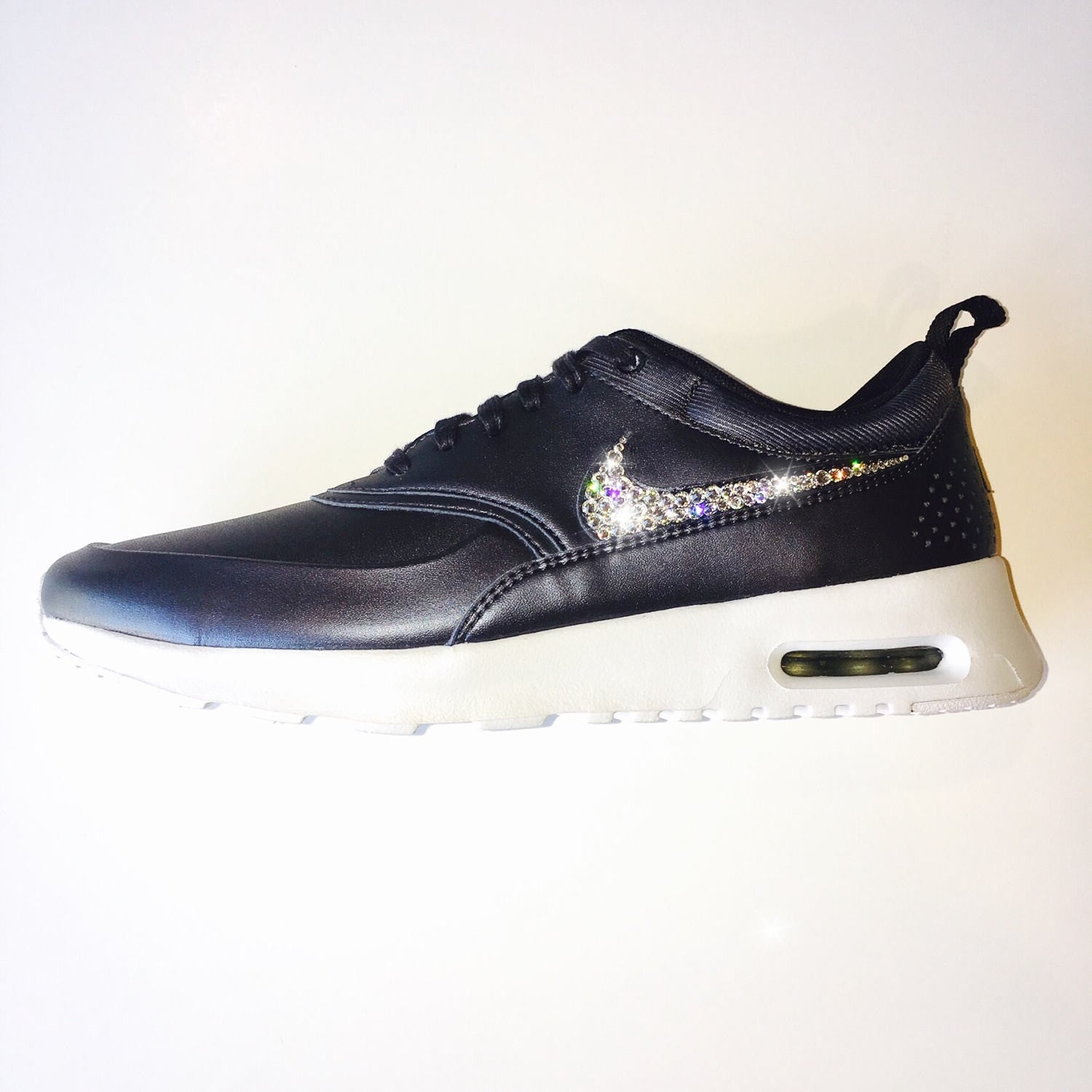Jet Hematite Bling Nike Air Max Thea Metallic SE Shoes with