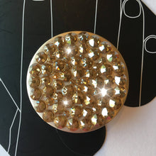 Bling PopSocket GOLD made with Swarovski Crystals PopSockets Grip iPhone Holder Stand custom