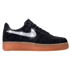 Bling Nike Air Force 1  07 SE with Swarovski Crystals   Black   Bedazzled w 25ba4d69ea