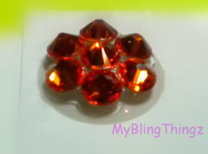 Crystal Bling Home Button Sticker for Apple iPhone 3GS 4 4S 5, iPad 2 3 4 Mini & iPod Touch All handmade w/ Swarovski Elements Orange Sun