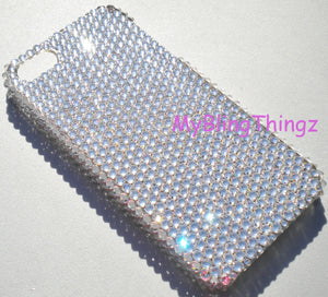 For Apple iPhone 5C - Clear Crystal Diamond Rhinestone BLING Back Case made with Swarovski Elements