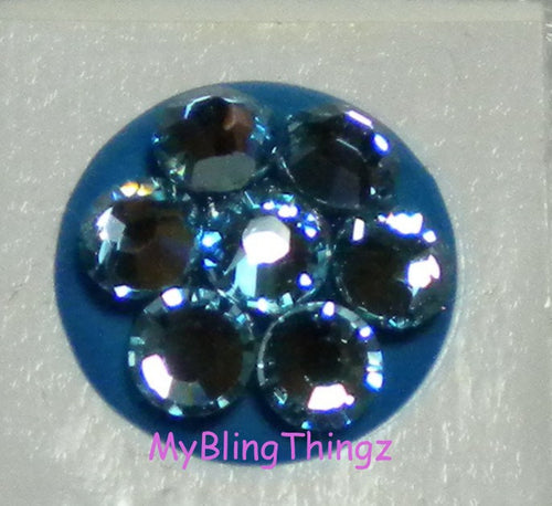 Crystal Bling Home Button Sticker for Apple iPhone 3GS 4 4S 5, iPad 2 3 4 Mini & iPod Touch All handmade w/ Swarovski Elements Aquamarine