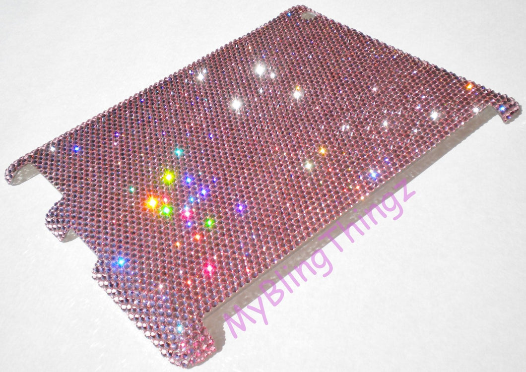16ss Light Rose Baby Pink Swarovski Crystal Diamond Rhinestone BLING Case for Apple iPad 2 3 4