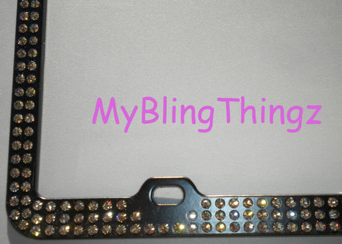 Swarovski Crystal Bling Licence Plate Frames, Emblems and More – My ...