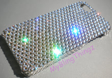 For iphone 5 5S SE - Luxury Clear Crystal Diamond Rhinestone BLING Back Case handmade with 100% Swarovski Elements
