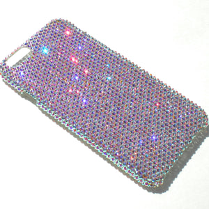 "For iPhone 7 Plus (5.5"") - Small 12ss Iridescent Crystal AB Rhinestone BLING Back Case handmade with 100% Crystals from Swarovski"