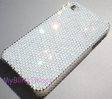 "For iPhone 6 (4.7"") ~ Small 12ss White Opal Diamond Rhinestone BLING Back Case bedazzled using 100% Crystals from Swarovski"
