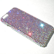 "For iPhone 7 Plus (5.5"") ~ 16ss Crystal AB Iridescent Rhinestone BLING Back Case made w/ Crystals from Swarovski"