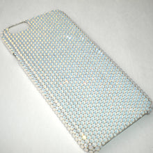 "For iPhone 7 PLUS (5.5"") ~ Small 12ss White Opal Diamond Rhinestone BLING Back Case bedazzled using 100% Crystals from Swarovski"