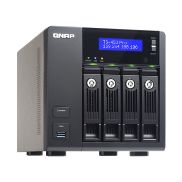 QNAP TS-453 Pro 4-Bay Pre-Configured Storage (NAS)