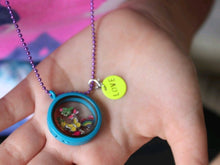 Floating Charm Locket with Charms