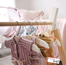 Limited Edition Doll Size Wooden Coat Hangers