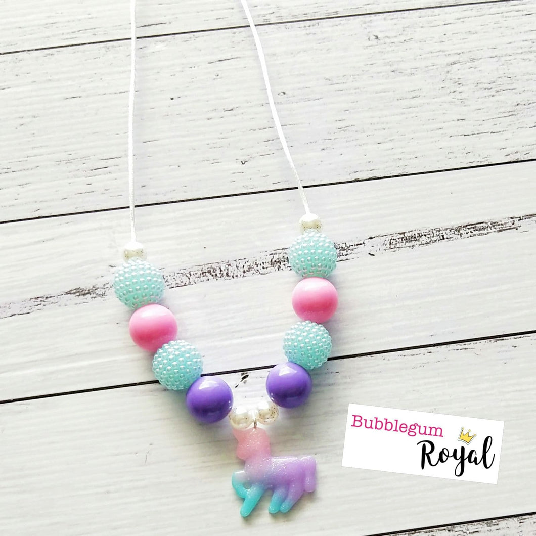 Pastel Unicorn Necklace