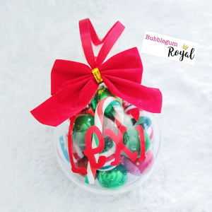 Personalised Christmas Bauble Mini DIY Kit or Ready Made Necklace