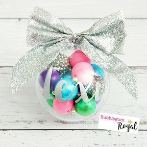Sugar Plum Fairy Half Bead Necklace and Bracelet Bauble Gift Set