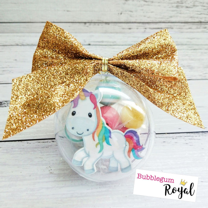 Unicorn DIY Bauble Mini Kit