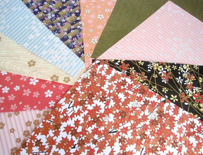 Chiyogami Origami paper variety pack