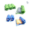 8 pcs Set Rolling Vacuum Storage Bag Hand Roll Compression  - (4Medium, 4Large)