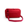 Passport Holder Shoulder Bag - Wine Red