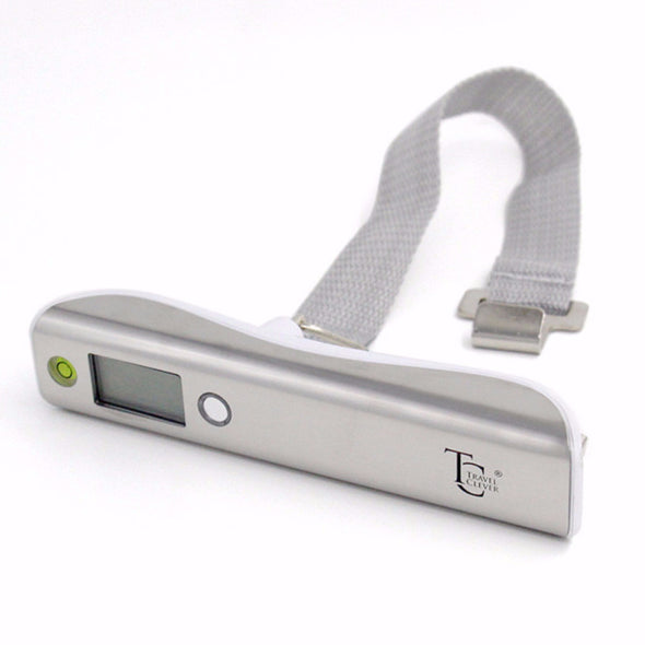 Luggage Scale with Measurement - White