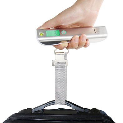 Luggage Scale with Measurement - Black